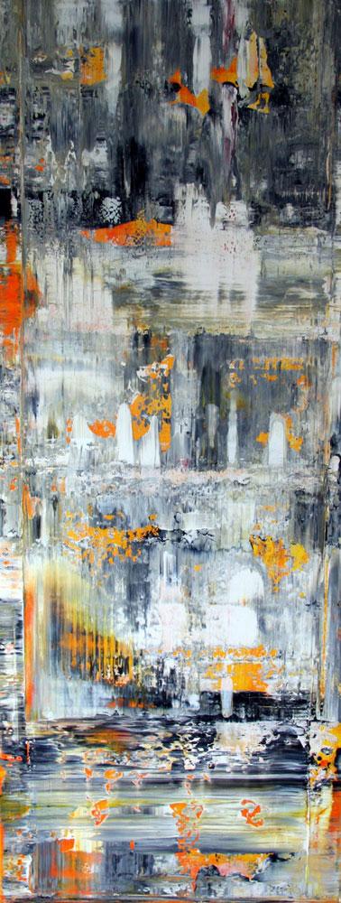 Gerhard Richter med på arbejde